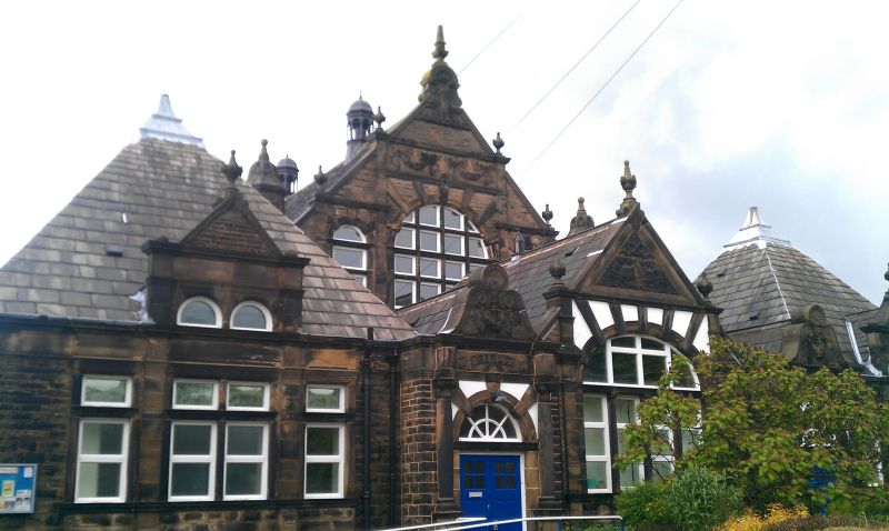 shepley first school building
