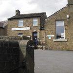Outside of Shepley Library taken from Marsh Lane, Shepley